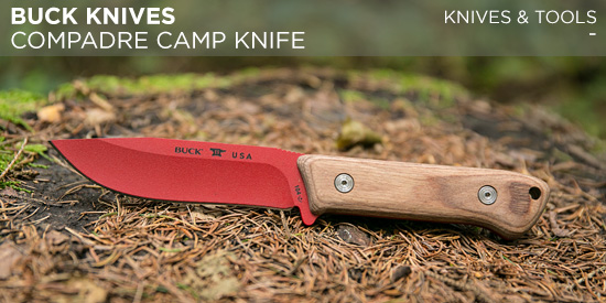 Buck Knives Compadre Camp Knife