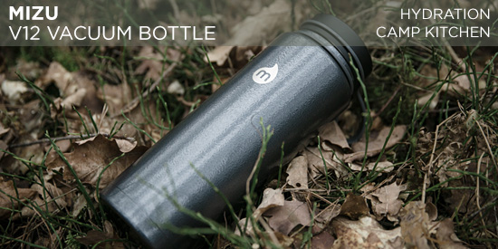Mizu V12 vacuum bottle