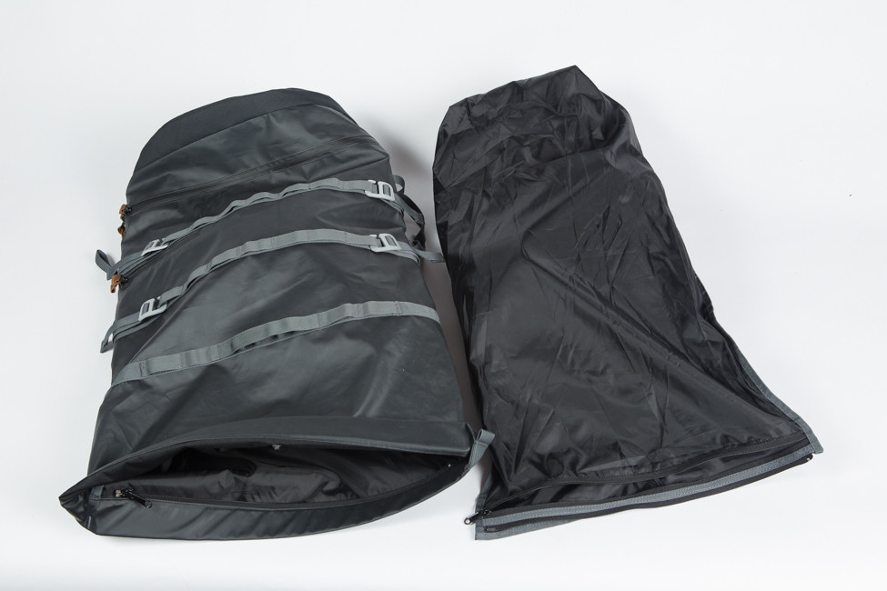 how to keep inside of backpack dry