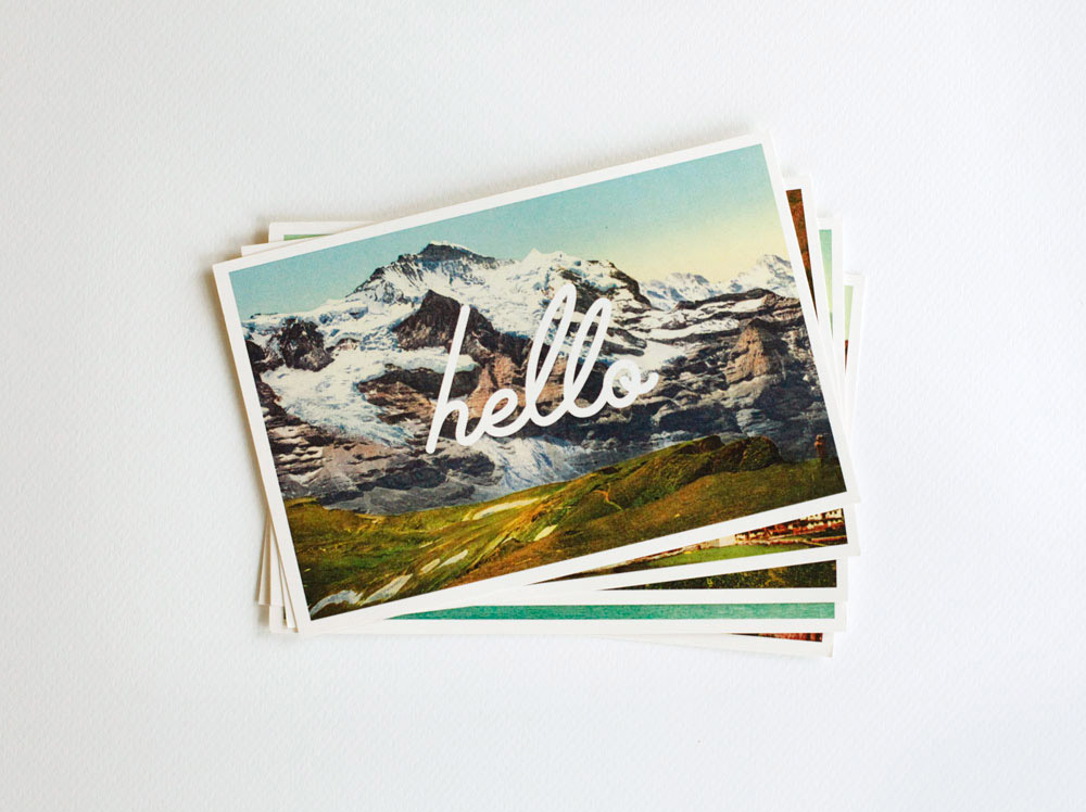 Adventure Supply Co. Greetings Postcard