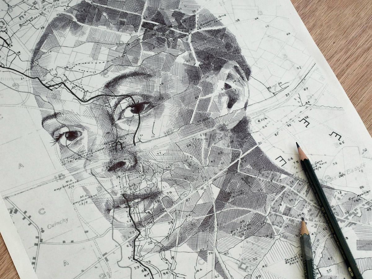 Cartography Art Ed faiburn