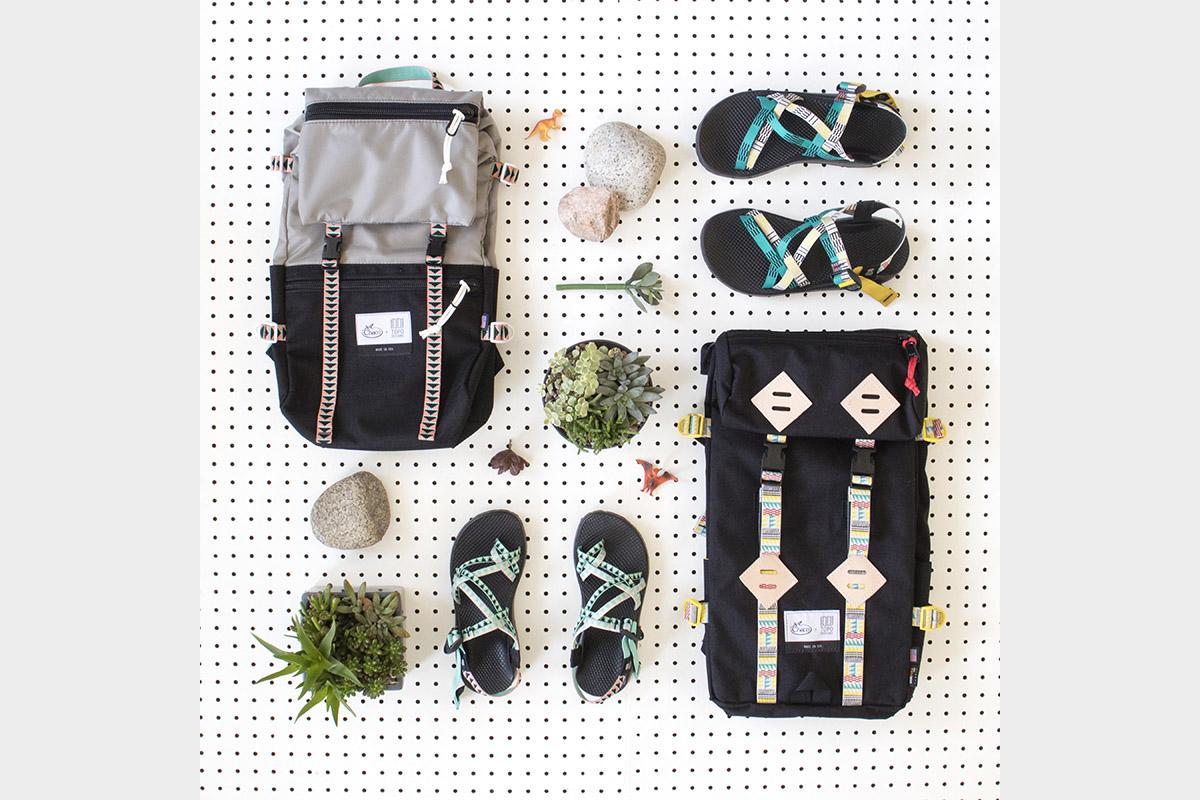 Topo Designs Chaco collaboration