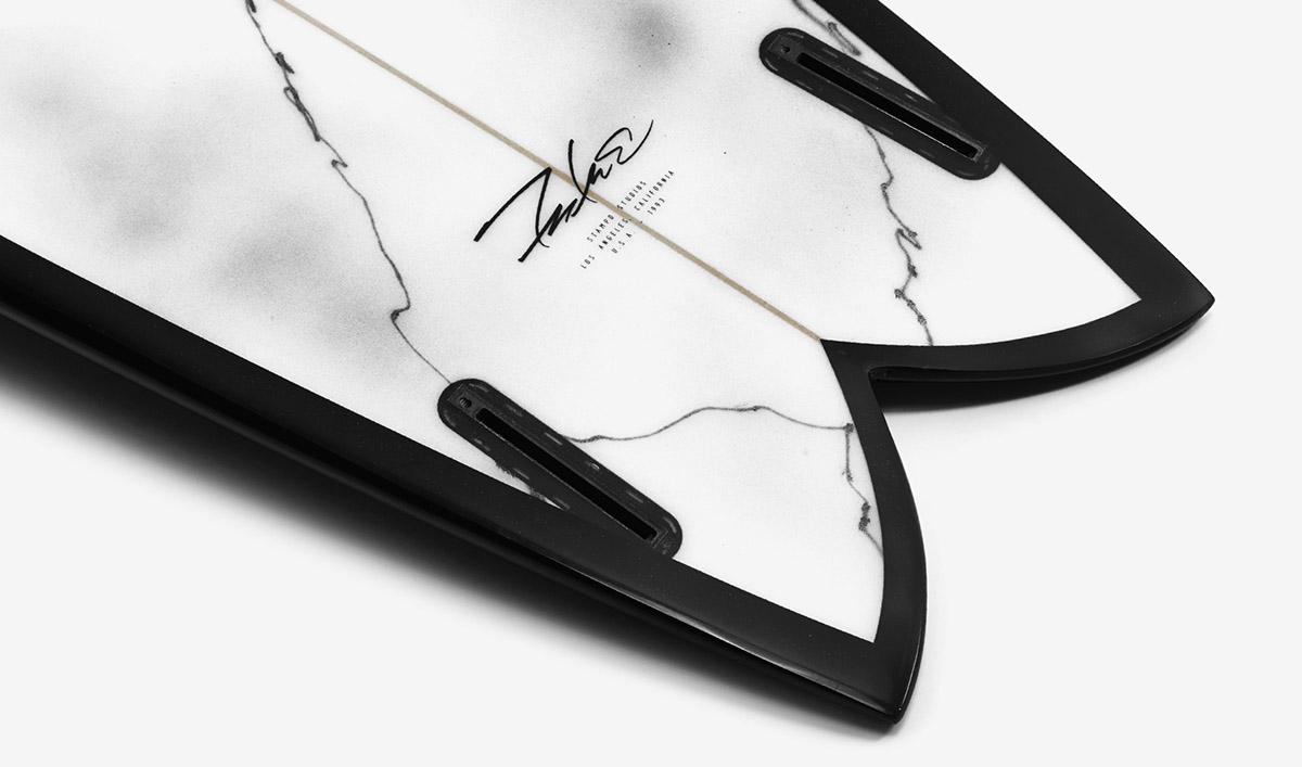 Futura Stampd surfboard